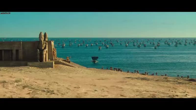Троя 'Мирмидоняне во главе с Ахиллесом высаживаются на берега Трои' mp4