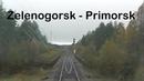Train Driver's View Zelenogorsk - Primorsk ( Cab ride ) Russia