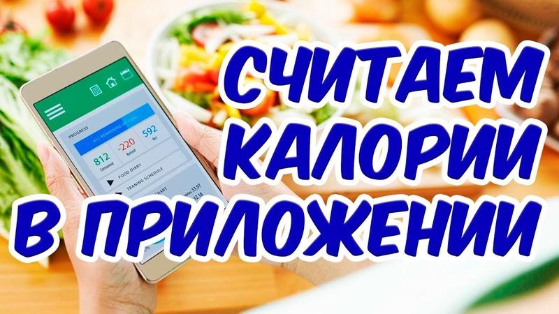Как считать калории в приложении на сайте Как считать калорийность готовых блюд