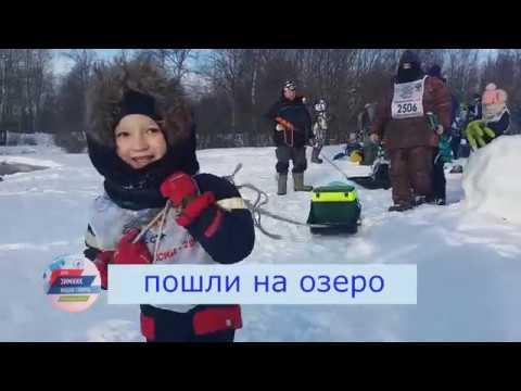 Зимняя рыбалка на оз. Волоярви