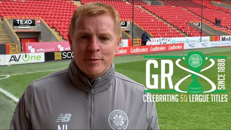A special thank you to the Celtic faithful from Neil Lennon 🏆8⃣