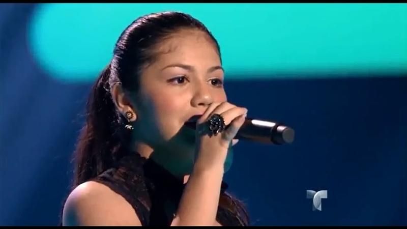 "Gianna canta ""La Cigarra"" en ""La Voz Kids"""