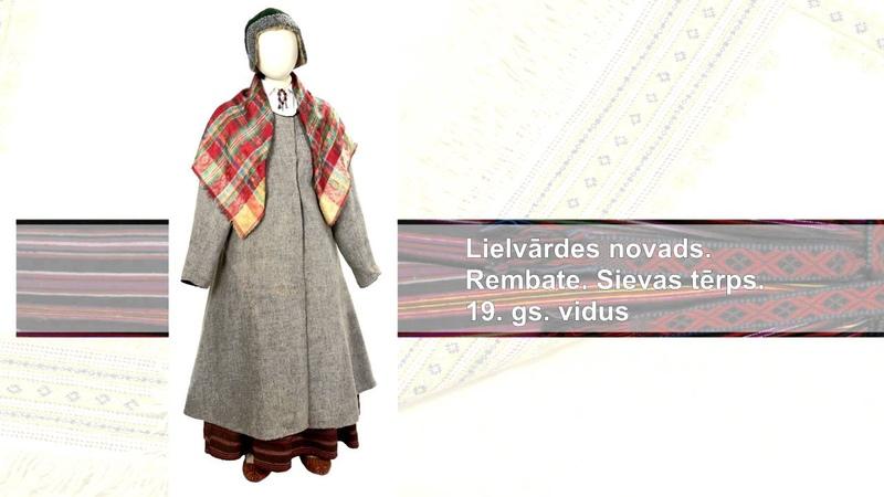 LNVM virtuālā izstāde Izcilākie priekšmeti etnogrāfisko priekšmetu kolekcijā. Tautastērpi