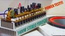 Test Stereo Yiroshi Amplifier High Power Output