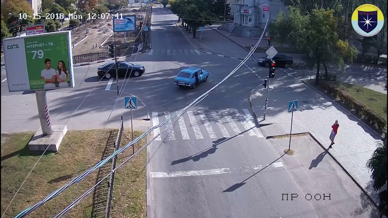 ДТП на перекрестке проспекта Трубников и улицы Станиславского 15.10.18