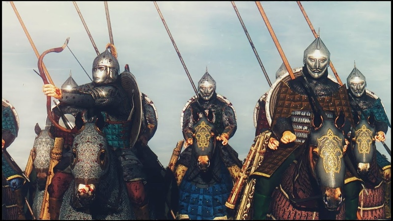 CUMAN-KIPCHAK CONFEDERACY vs KIEVAN RUS Cinematic Film Medieval Kingdoms Mod