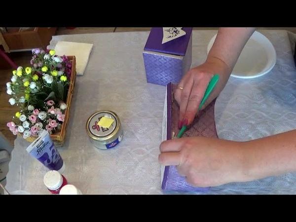 Мастер класс шкатулки часть 2 Винтажный гламур