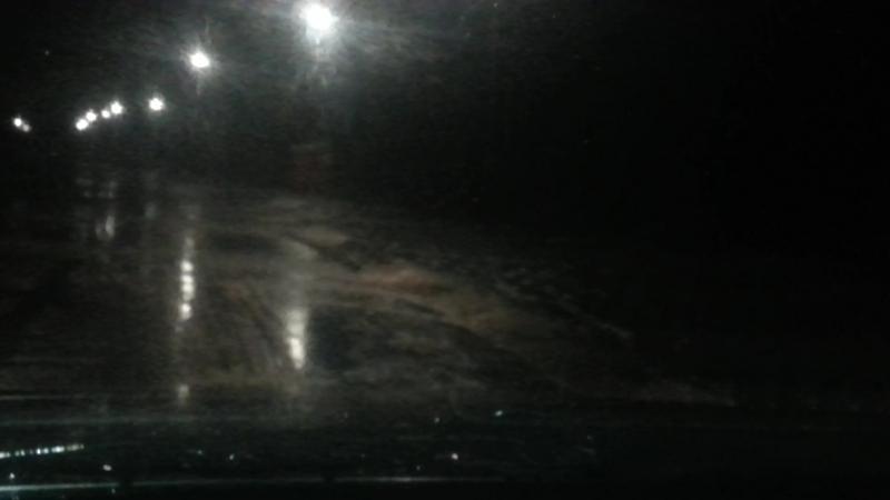 Шторм на Косе! Размывает дорогу