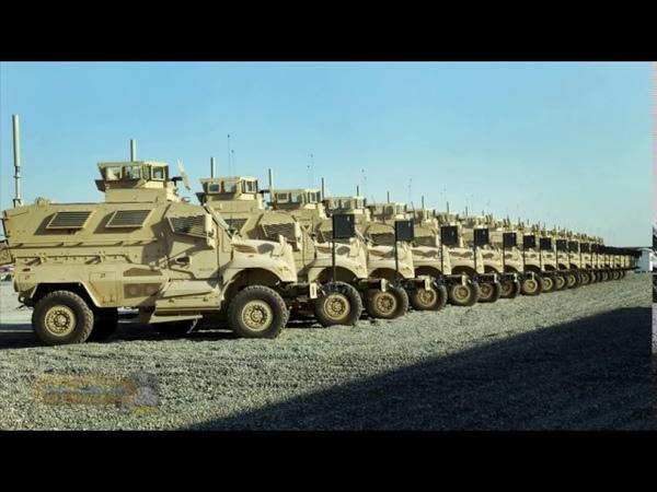 Оружие и военная техника Америки 2015 2016 Американские бронеавтомобили MaxxPro