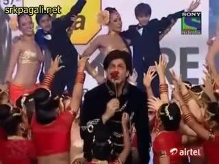 Filmfare Award 2011 2012 SRK Performance