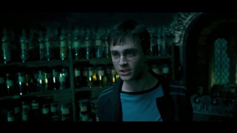 Гарри Поттер и компания в лифте [Crack] юмор