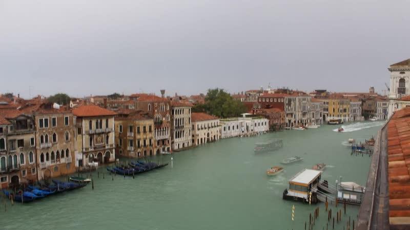 Италия, Венеция, Гранд Канал, вид с отеля Gritti Palace