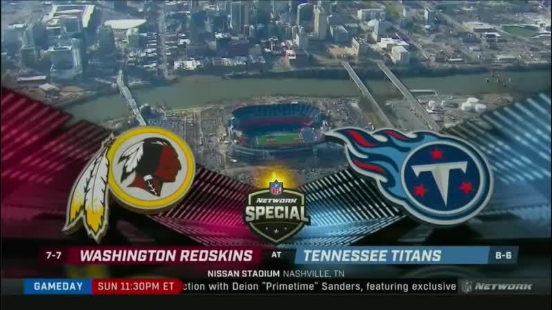 NFL Gameday Kickoff (NFL Network, 22.12.18 - 200 PM)