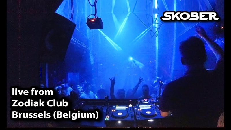 Skober live from Zodiak Club, Brussels (Belgium) [08-09-2018]