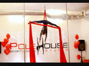 Лукшина Дарья, воздушная гимнастка на полотнах