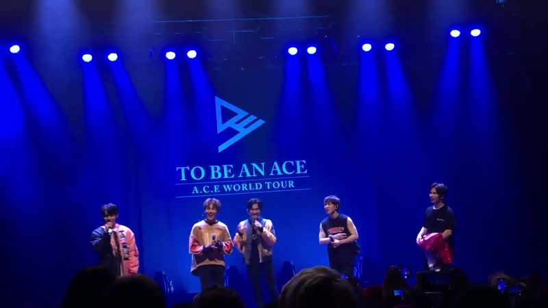 FANCAM | 02.12.18 | Chan @ Fan-con 'To Be An ACE' in Chicago (john)