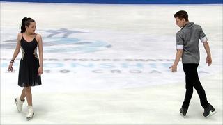 Елизавета Худайбердиева и Никита Назаров. Произвольный танец.