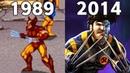 Evolution Of X-Men Games 1989 - 2014