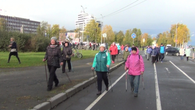 10000 шагов (Петрозаводск. 6 октября 2018 г.)