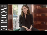 Victoria Beckham In the Bag British Vogue english