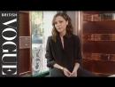 Victoria Beckham In the Bag British Vogue english