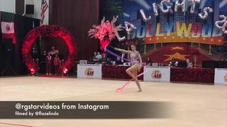 Alina Harnasko ribbon - LA Lights 2019