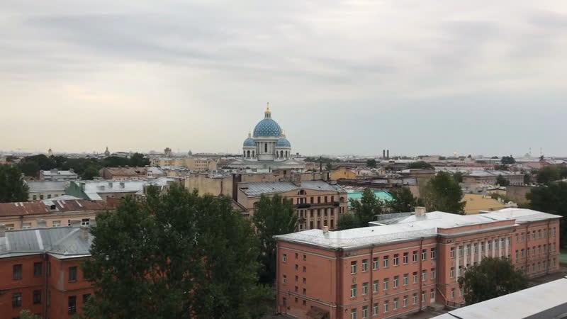 Вид с крыши завода « Пекарь»