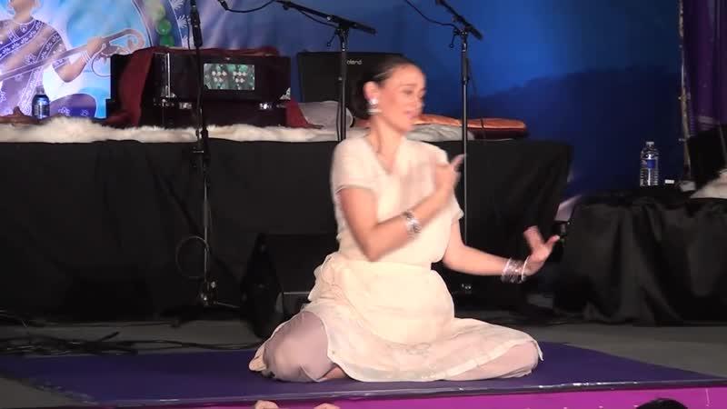 Jai-Jagdeesh Dances at Sat Nam Fest East 2012