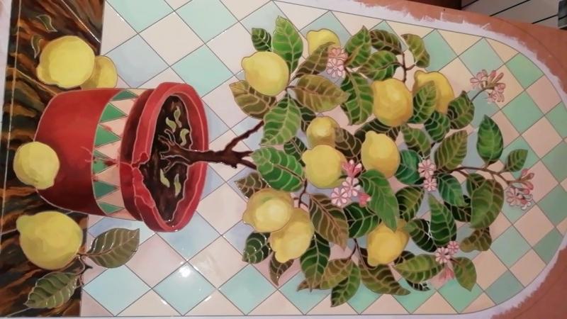 Панно Лимонное дерево