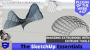 AMAZING Extrusions in SketchUp with Extrude Tools - ALL TOOLS EXPLAINED! - Extension of the Week 47