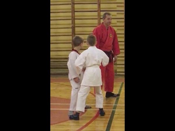 Совместная тренировка детей с родителями