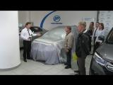 Торжественная выдача автомобиля LIFAN X50 счастливому обладателю