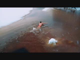 Моржи Северодвинска, прилив прет