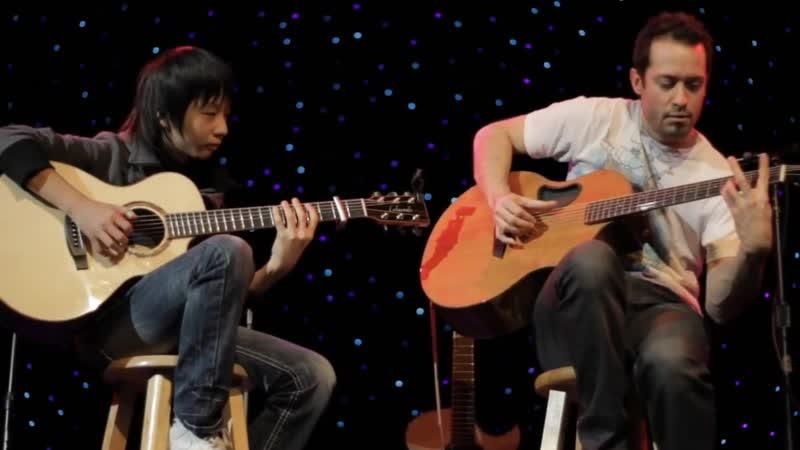 Billie Jean (Michael Jackson)' Trace Bundy, Sungha Jung (guitars) HD2