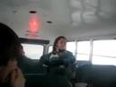Автобус наехал на кочку смотреть всем