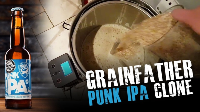 Punk IPA Clone on GrainFather with GrainFather Connect APP