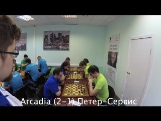 Arcadia (2-1) Петер-Сервис / #ITChess