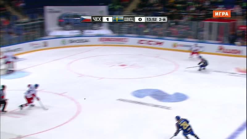 Euro Hockey Tour 2018-19. Channel One Cup. Czech Republic - Sweden 16.12 14.00