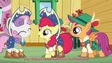 My Little Pony FiM Сезон 6, серия 4 On Your Marks HD русские субтитры