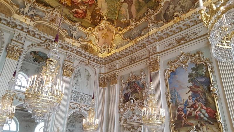 Ein Besuch von Schloss Nymphenburg in München Oktober 2017