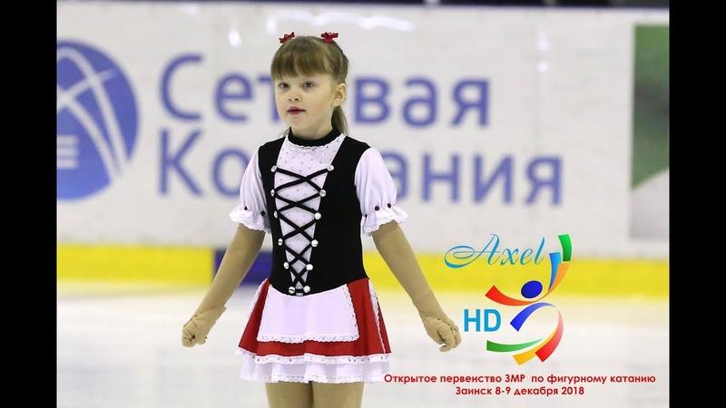 Александра Петрова (Набережные Челны) ЮФ (9.12.2018-Заинск)
