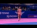 Camila Giorgi hitting winners for fun