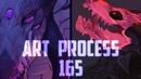 Speedpaint.165 Xenodragons (commissions)