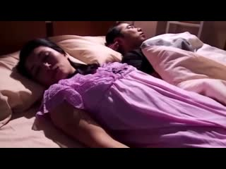 Son touch his mom sleeping with his dad