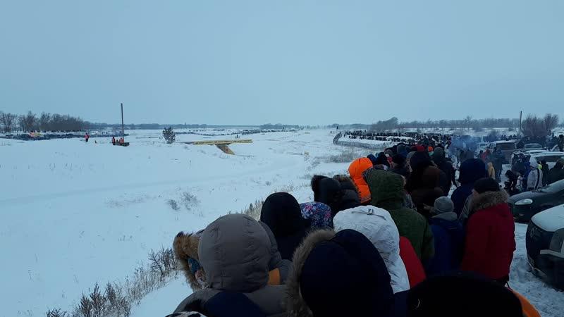 Рождественские гонки, полигон рядом с селом Сосновка, 40км от Тольятти.