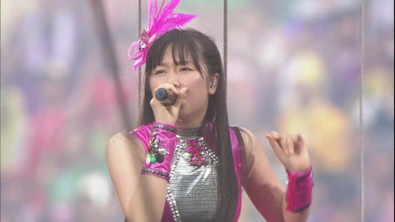 Momoiro Clover Z - Tsuki to Gingami Hikousen (World Summer Dive 2013)