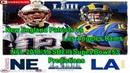 SBLIII SuperBowl 53 New England Patriots vs. Los Angeles Rams NFL 2018-19 Predictions Madden NFL 19
