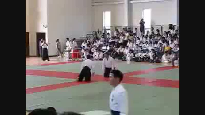 Allander Aikido Club - Back by Popular Demand, Aikido freestyle show at Taiwan Taipei