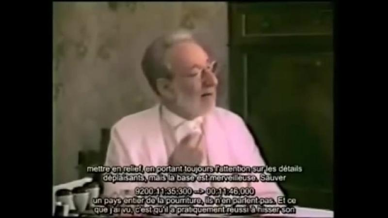 Entretien Ernst Zündel et pr Roger Dommergue