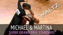 Michael Giuliano Martina Rugani Вальс 2018 GOC Professional Division Super Grand Prix STD